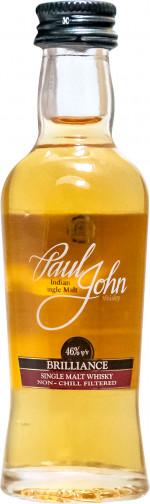Paul John Single Malt Brillance Miniaturka