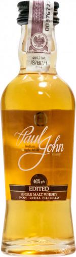 Paul John Single Malt Edited Miniaturka