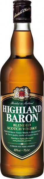 Highland Baron Blend Whisky 40%