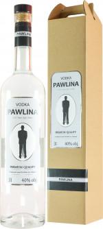 Pawlina Vodka 3l z pompką + kartonik