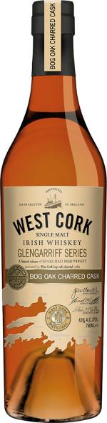 West Cork Glengarriff Bog Oak Charred Cask 43%