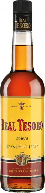 Real Tesoro Solera Brandy De Jerez