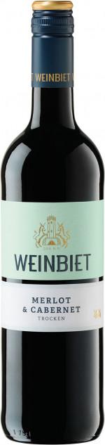 Weinbiet Merlot&Cabernet Trocken 2014
