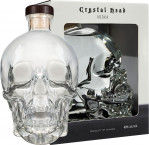 Crystal Head Vodka - czaszka 0,7l  karto