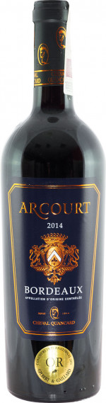 Arcourt Bordeaux Rouge 2016
