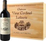 Chateau Vieux Cardinal Lafaurie 2013 Skrzynka 3 butelki