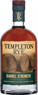 TEMPLETON RYE BARREL STRENGHT 0,7 57,9%