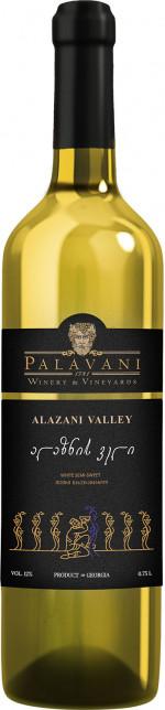 PALAVANI ALAZANI VALEY 0,75 WHITE SEMI SWEET