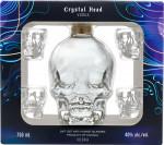 Crystal Head Vodka + 4 kieliszki