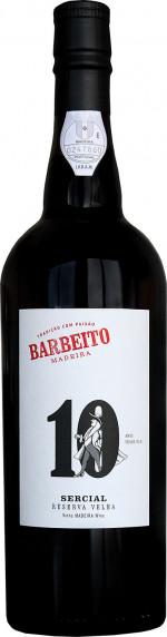 Barbeito Madeira 10 YO Sercial Reserva Velha