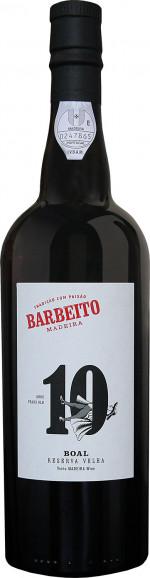Barbeito Madeira 10 YO Boal Reserva Velha