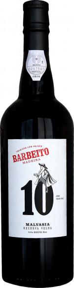 Barbeito Madeira 10 YO Malvasia Reserva Velha