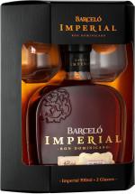 Ron Barcelo Imperial 0,7 + 2 szklanki