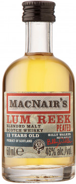 Macnair's Lum Reek 12YO Peated Blended Malt 0,05 mini