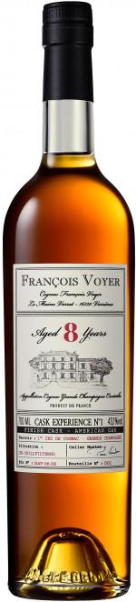 FRANCOIS VOYER CASK EXPIERENCE No1 8YO 0,7 43,1%