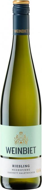 Weinbiet Kerner Meerspinne Halbtrocken 2020