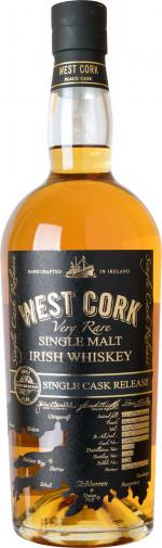 WEST CORK SINGLE MALT M&P CASK 2450 0,7 56,5%