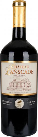 Chateau LANSCADE Rouge 2016