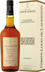 Calvados Domfrontains Lauriston 1986
