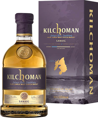 KILCHOMAN SINGLE MALT SANAIG 0,7 46%