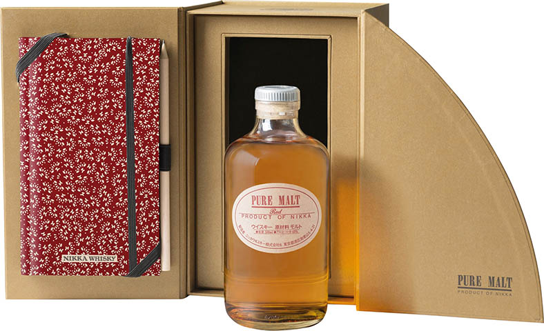 NIKKA PURE MALT RED 0,5 + NOTES 43%