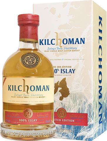 KILCHOMAN 100%ISLAY 3RD EDITION  0,7 50%
