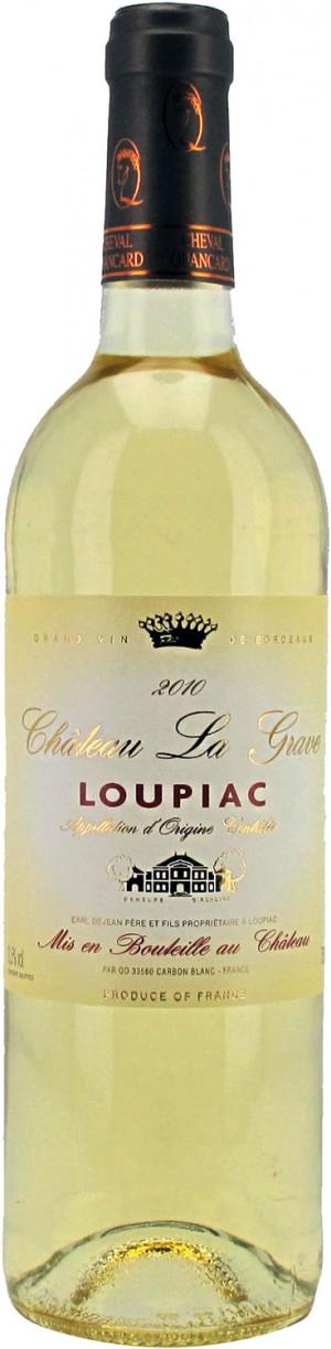Chateau La Grave Loupiac 2017