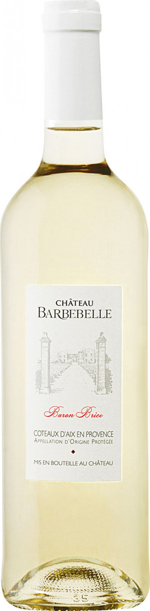 Chateau Barbebelle Baron Brice Blanc 2018