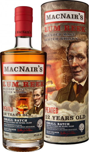 MACNAIR'S LUM REEK 12'YO PEATED BLENDED MALT 0,7L