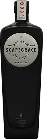 Scapegrace Premium Dry Gin Srebrny 1l