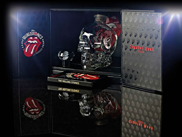 Crystal Head Vodka Rolling Stones