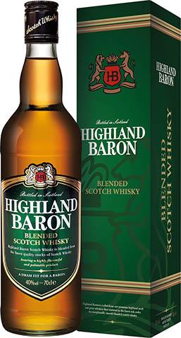 Highland Baron Blend Whisky Kartonik 40%