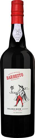 BARBEITO MADEIRA 5YO ISLAND SWEET 0,75