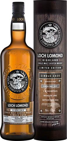 LOCH LOMOND 2001 CASK 127 52,2% 0,7