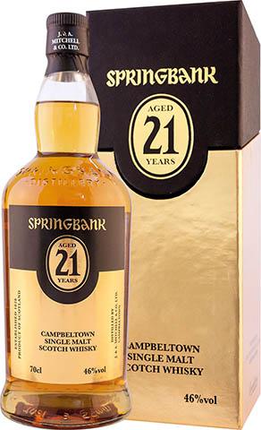 Springbank 21 YO 49,2% kartonik