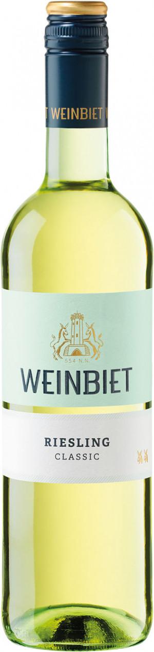 Weinbiet Riesling Classic 2018