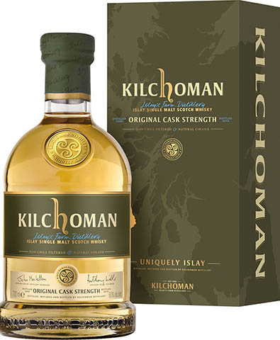 KILCHOMAN SINGLE MALT cask strenght 56,9% 0,7