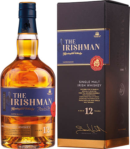 THE IRISHMAN 12YO SINGLE MALT 0,7 43%