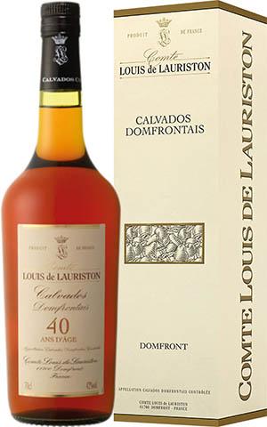 Calvados Domfrontains Lauriston 40 YO