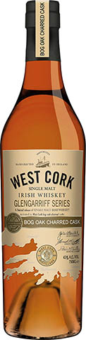 WEST CORK GLENGARRIFF BOG OAK CHARRED CASK 0,7 43%
