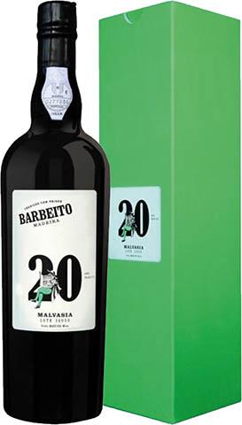 BARBEITO MADEIRA 20YO MALVASIA 0,75