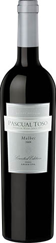 PASCUAL TOSO MALBEC limited edition 2015 0,75
