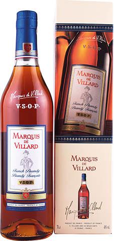 MARQUIS DE VILLARD VSOP BRANDY 0,7L