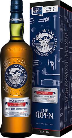 LOCH LOMOND THE OPEN 0,7L 46% KARTONIK niebieski