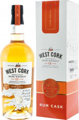 West Cork 12YO Rum Cask Malt Kartonik