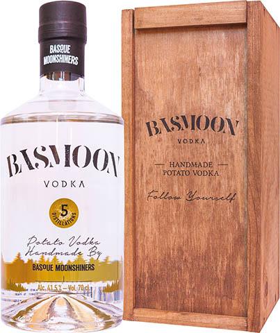 BASMOON VODKA 0,7L SKRZYNKA 41,5%