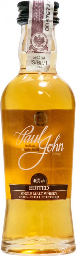 Paul John Single Malt Edited Miniaturka