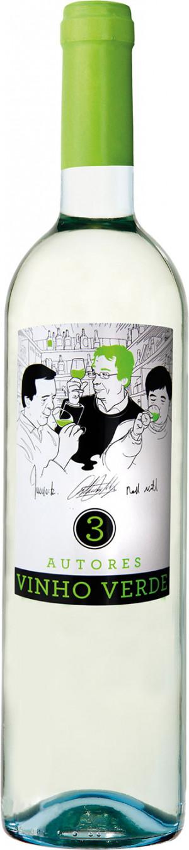 3 Autores Vinho Verde Branco 2018