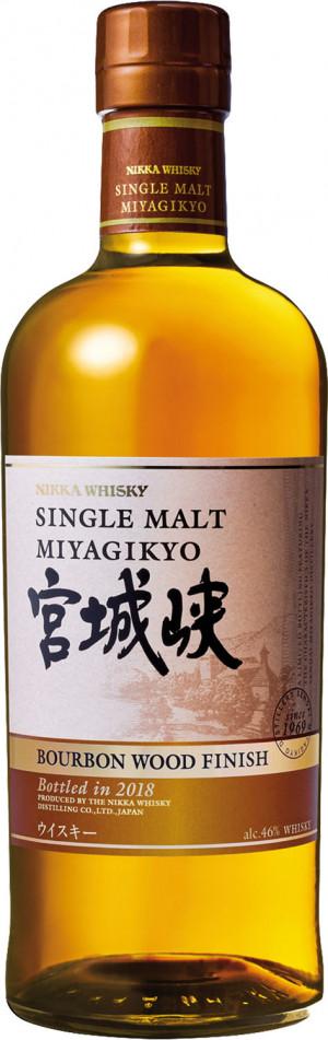 MIYAGIKYO BOURBON WOOD FINISH NIKKA 0,7 46%