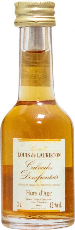 Calvados Mini Hors D'Age Louis Lauriston 0,03L